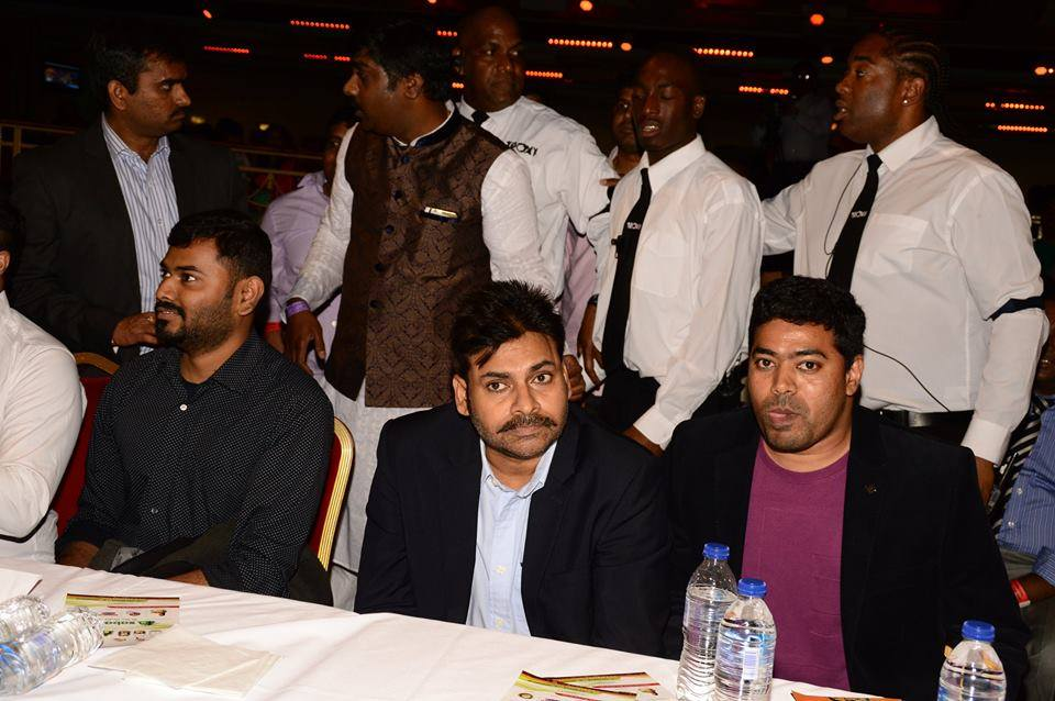 power star @ ukta annual celebrations acknowledging his fan's