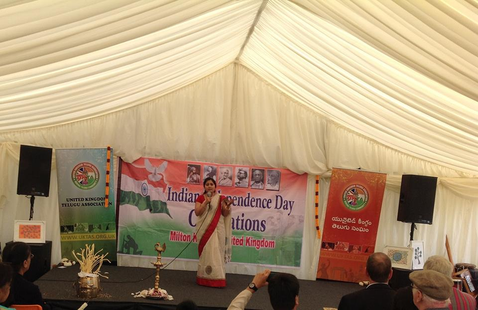 india independence day celebrations at simpson park. milton keynes