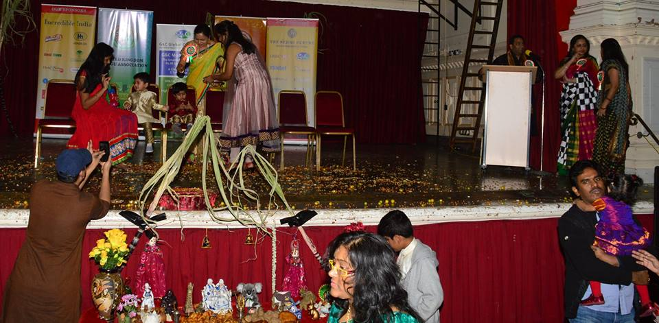 year 2015 kicked off with sankranti vedukalu at newham town hall, london