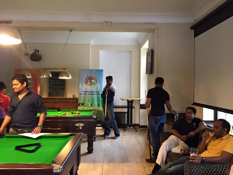 ukta summer snooker pool sports 2015 at , london