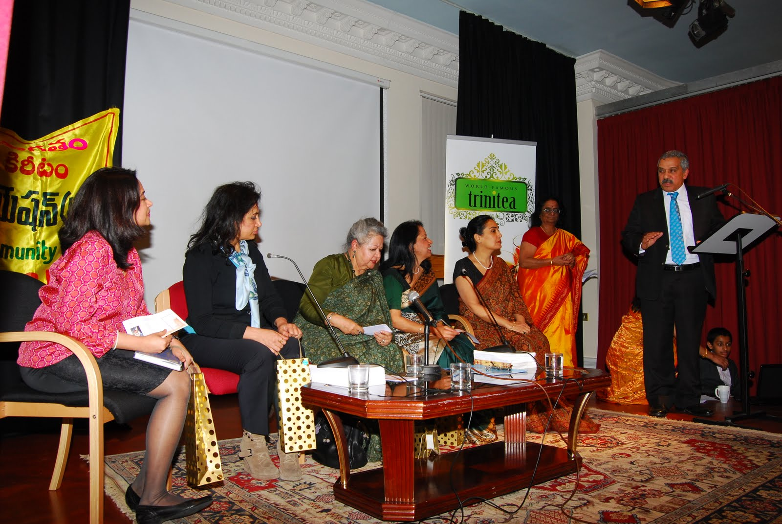 inernational womens day at nehru center, hci  2