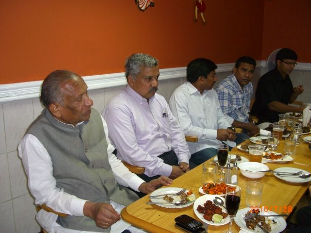 dinner with hon. virendra sharma mp