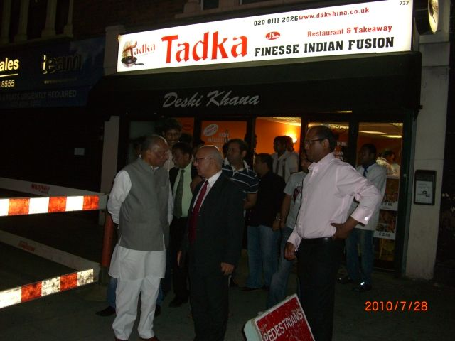 dinner with hon. virendra sharma mp-2