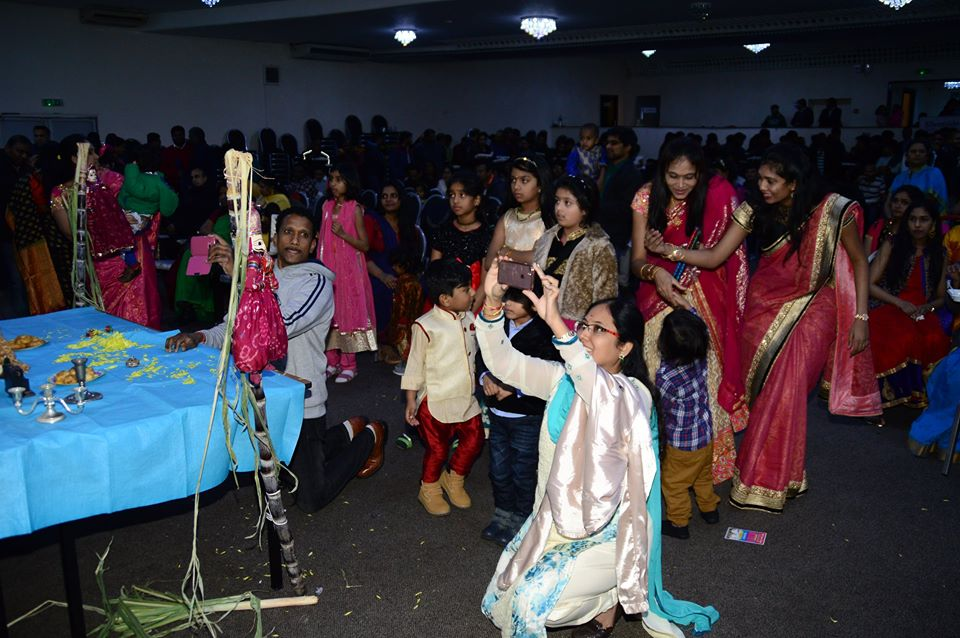 sankranti sambaralu in east london