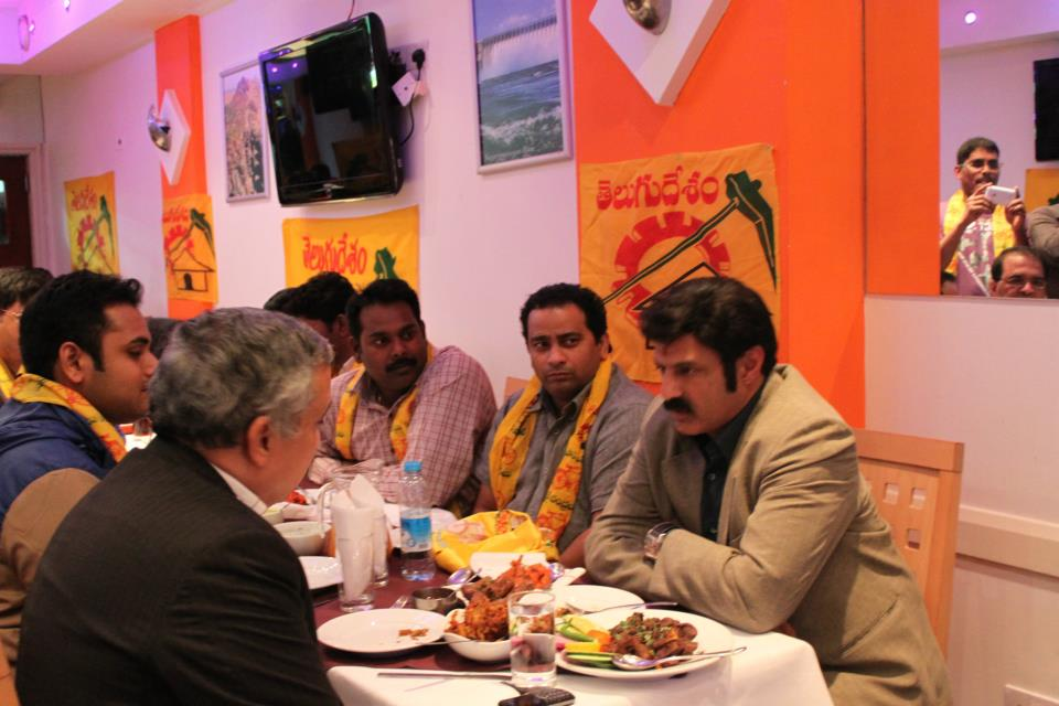 balayya at desi flava restaurant,london